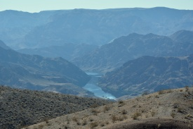 Colorado River south of Hoover Dam