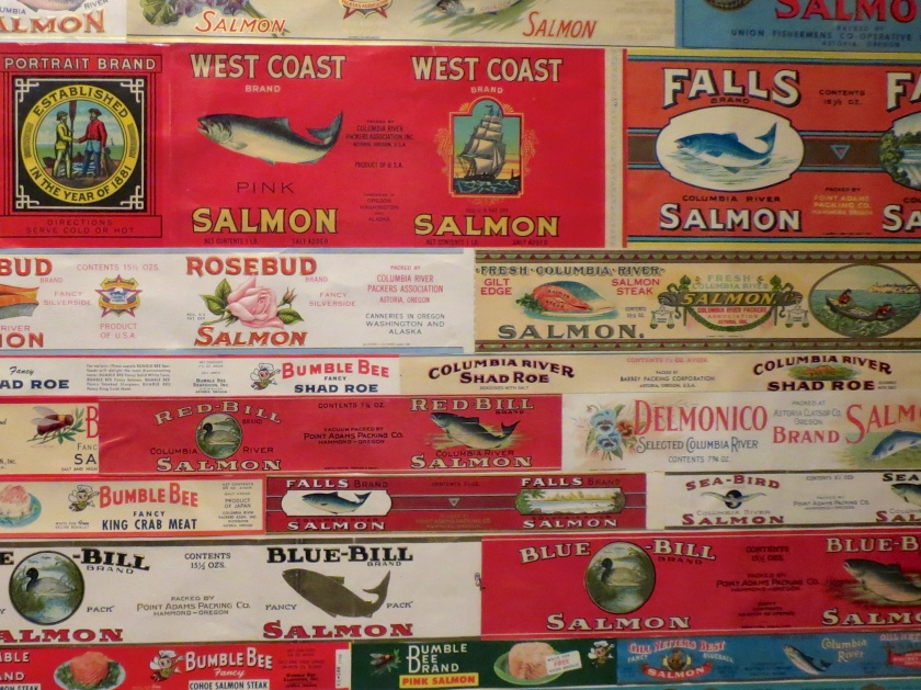 Cannery label collection_Maritime Museum