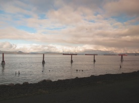 Ships awaiting_Port_of_Astoria