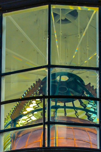 lens-Yaquina Head Lthouse