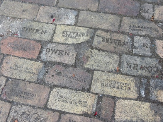 Lime Kiln Brick Company inscriptions