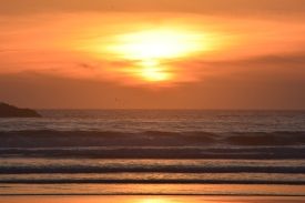 "Sunset- ""It's so beautiful."""