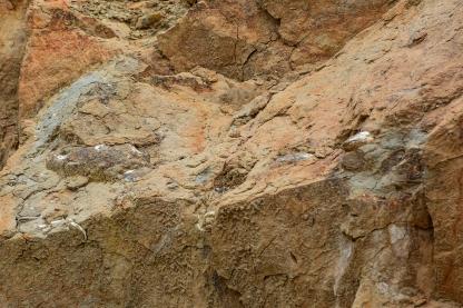 Sandstone seawall