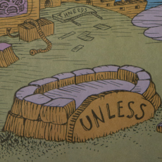 UNLESS- Someone like you cares a whole awful lot, nothing will get better. It's not. From: The Lorax by Dr. Suess.