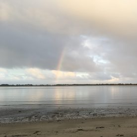 Coos Bay first partial rainbow